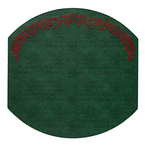 Holly Forest Red Mats - Pack of 4