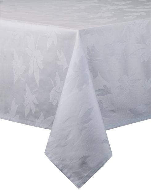 Leaves Silver Tablecloth