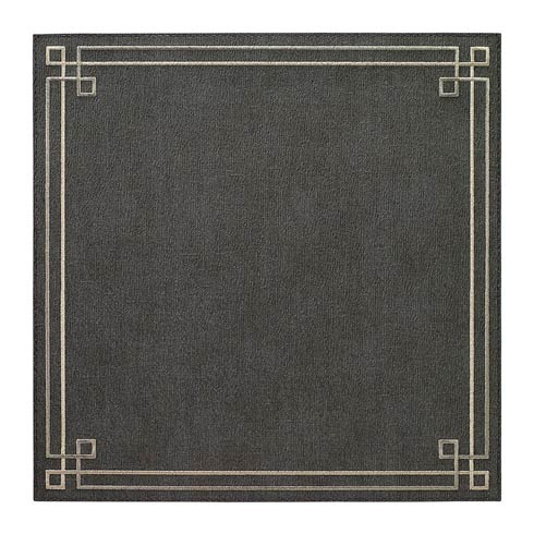 Link Charcoal Silver Mats - Pack of 6
