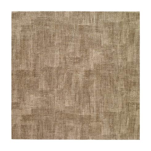 "Luster Sand 15"" Square Mats - Pack of 4"