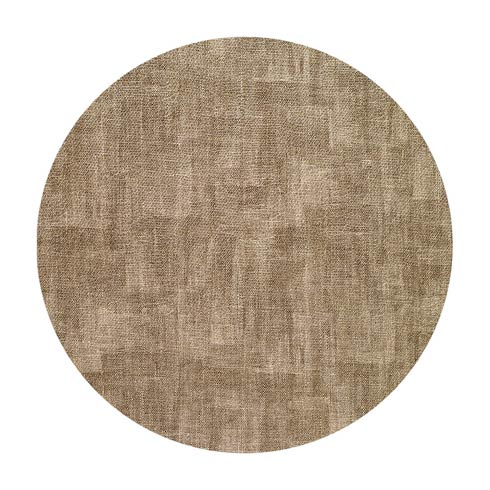 "Luster Sand 16"" Round Mats - Pack of 4"