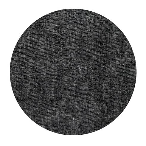"Luster Smoke 16"" Round Mats - Pack of 4"