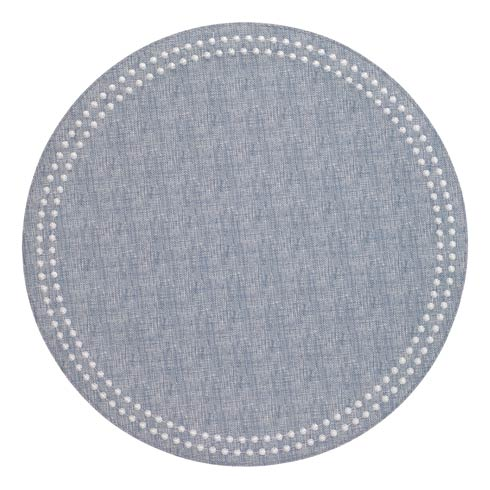 Pearls Bluebell White Mats Pack of 6
