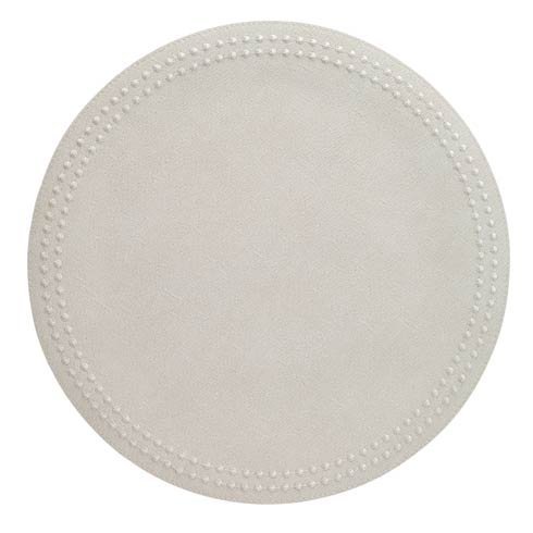 Pearls White White Mats Pack of 6