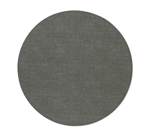 "Presto Charcoal 15"" Rd Mat - Pack of 6"