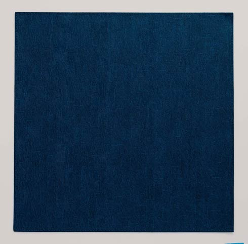 "Presto Navy 15"" Square Mat - Pack of 6"