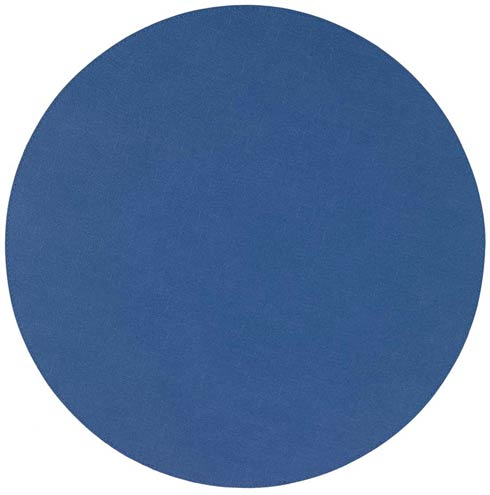 "Presto Periwinkle 15"" Round Mat - Pack of 6"