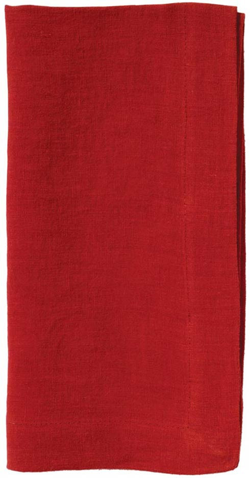 Riviera Burgundy 22' Napkin - Pack of 6