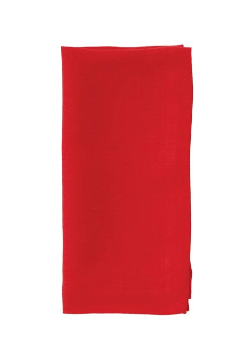 "Riviera Poppy Red 22"" Napkin - Pack of 6"