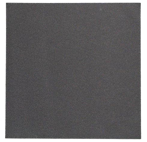 """Skate Charcoal 15"""" Sq Mat - Pack of 6"""