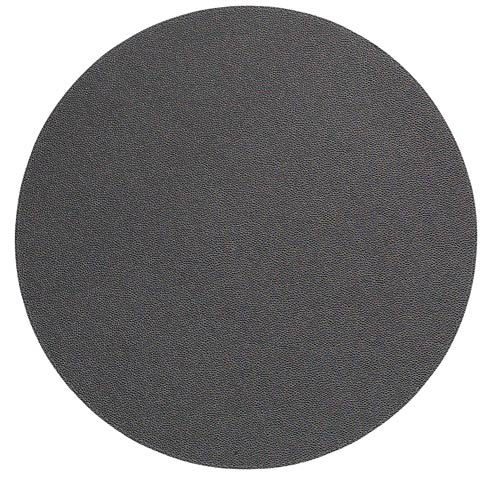 """Skate Charcoal 16"""" Rd Mat - Pack of 6"""