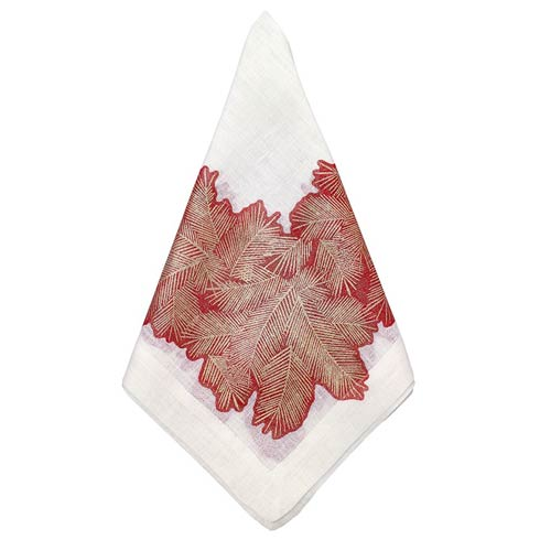 "Spruce Red 22"" Napkin - Pack of 4"