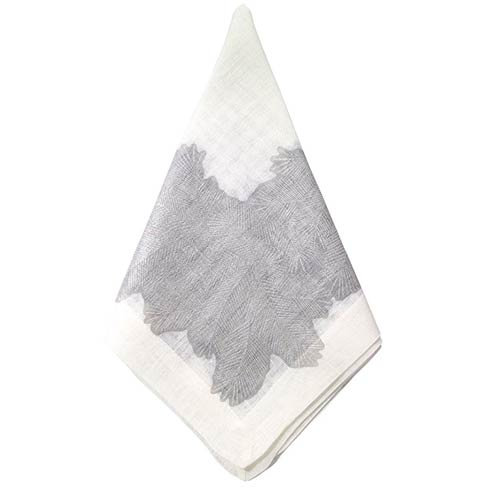 "Spruce Silver 22"" Napkin - Pack of 4"
