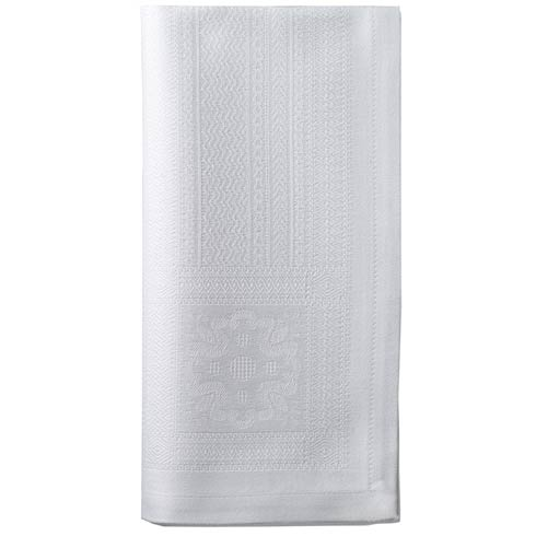 "Villa White 20"" Napkin - Pack of 4"