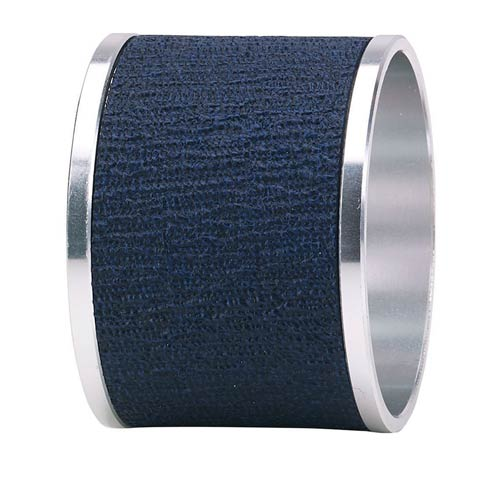 Presto Navy Napkin Ring - Pack of 4