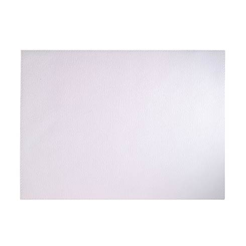 Presto Pure White Rectangle Mats - Pack of 4