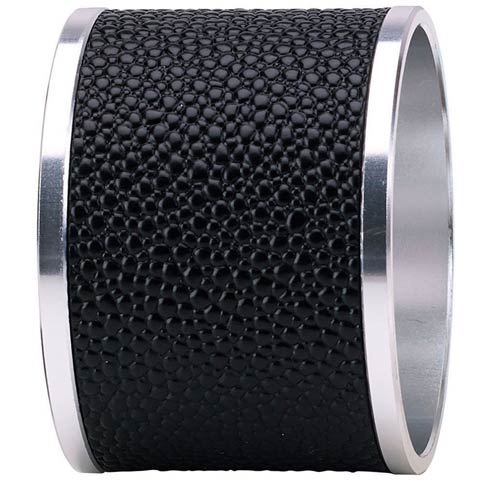 Skate Black Napkin Ring - Pack of 4