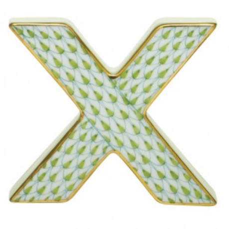 Herend X-Key Lime