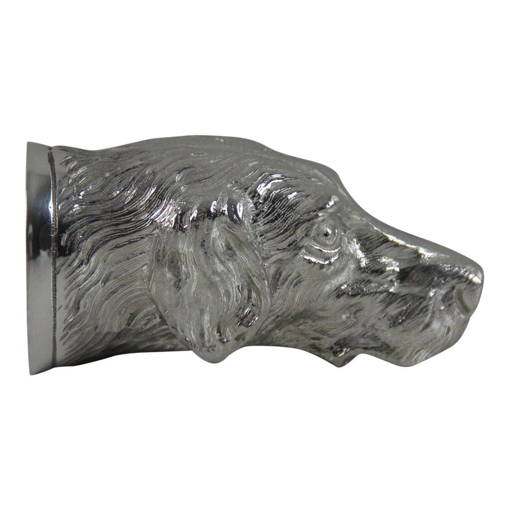 Coyne-Mellow English Pewter Dog Head Jigger