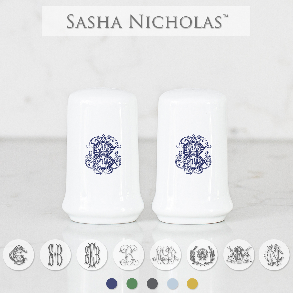 Custom Salt + Pepper Set