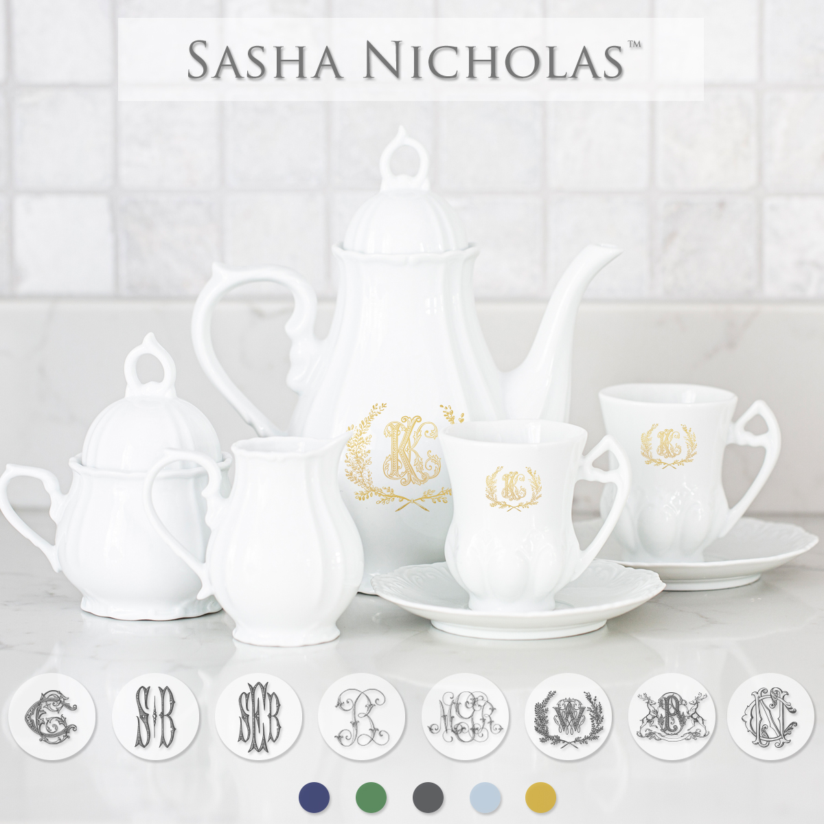 Sasha Nicholas Child's Tea Set