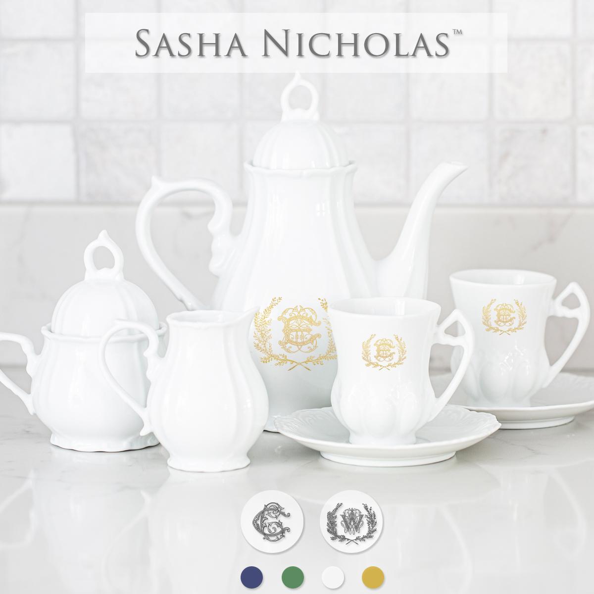 Quick Ship Sasha Nicholas Child's Tea Set