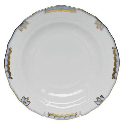 Belvin-Rehme Herend Princess Victoria Light Blue Dessert Plate