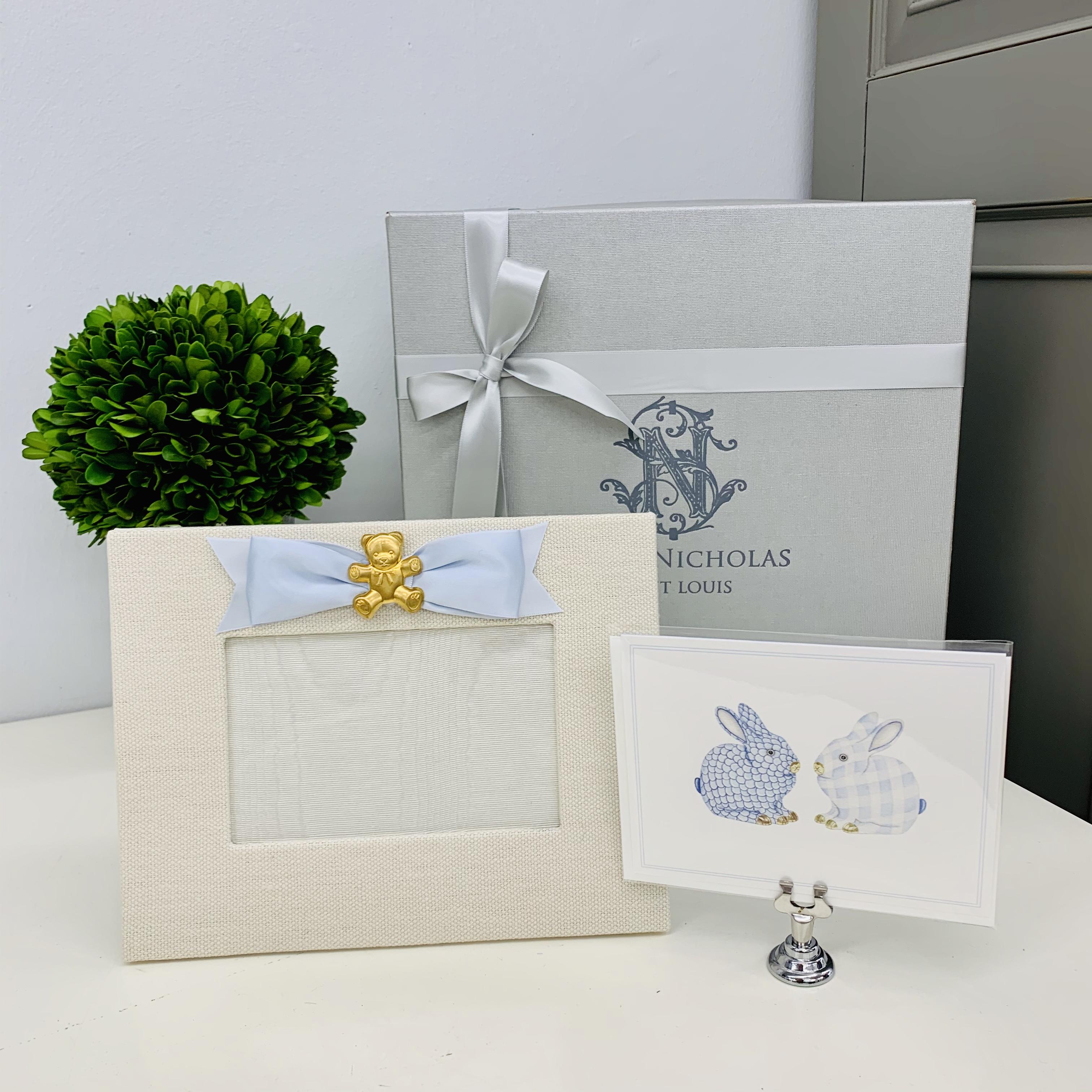 Baby Blue Gift Set