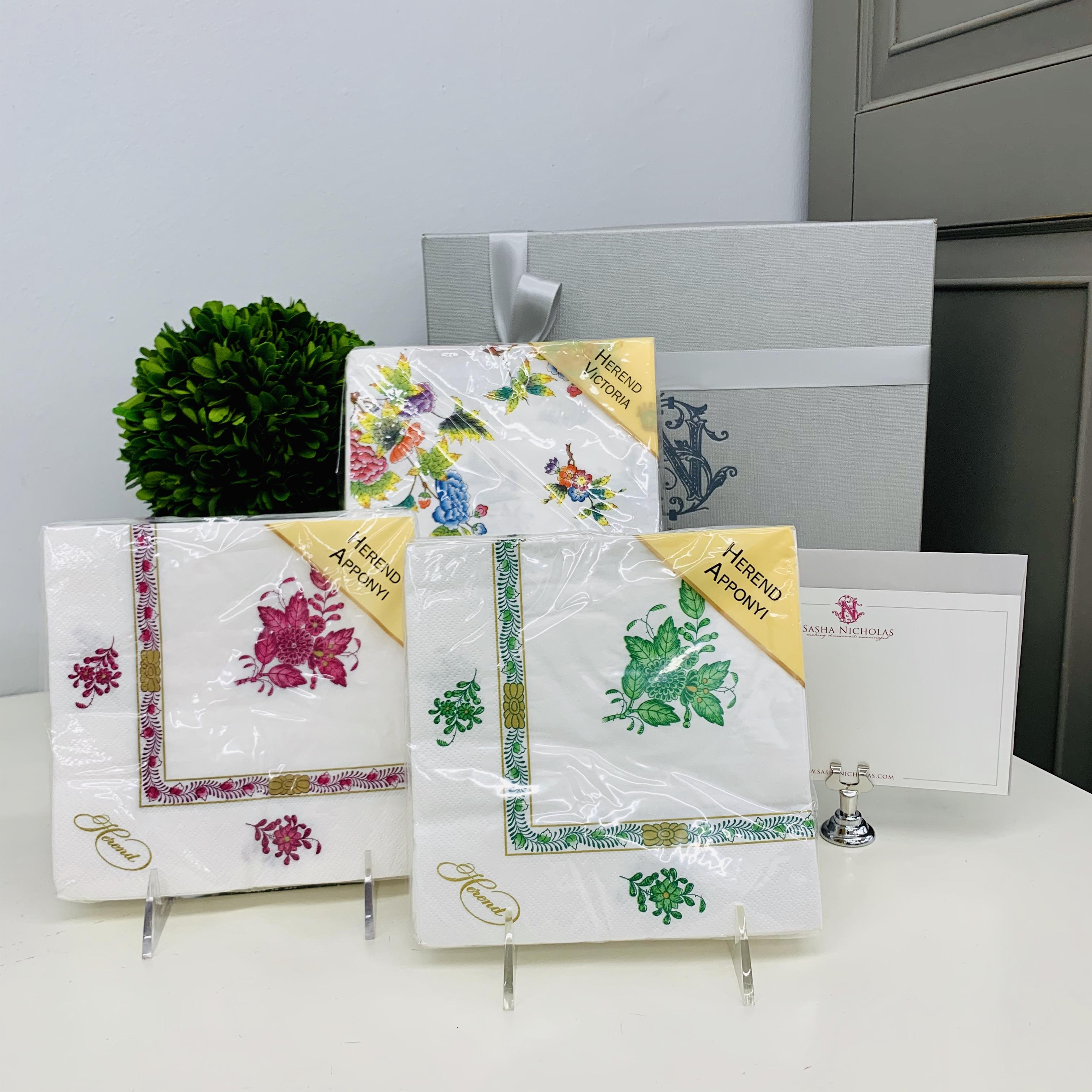 Easter Gift Set   Herend Paper Napkins