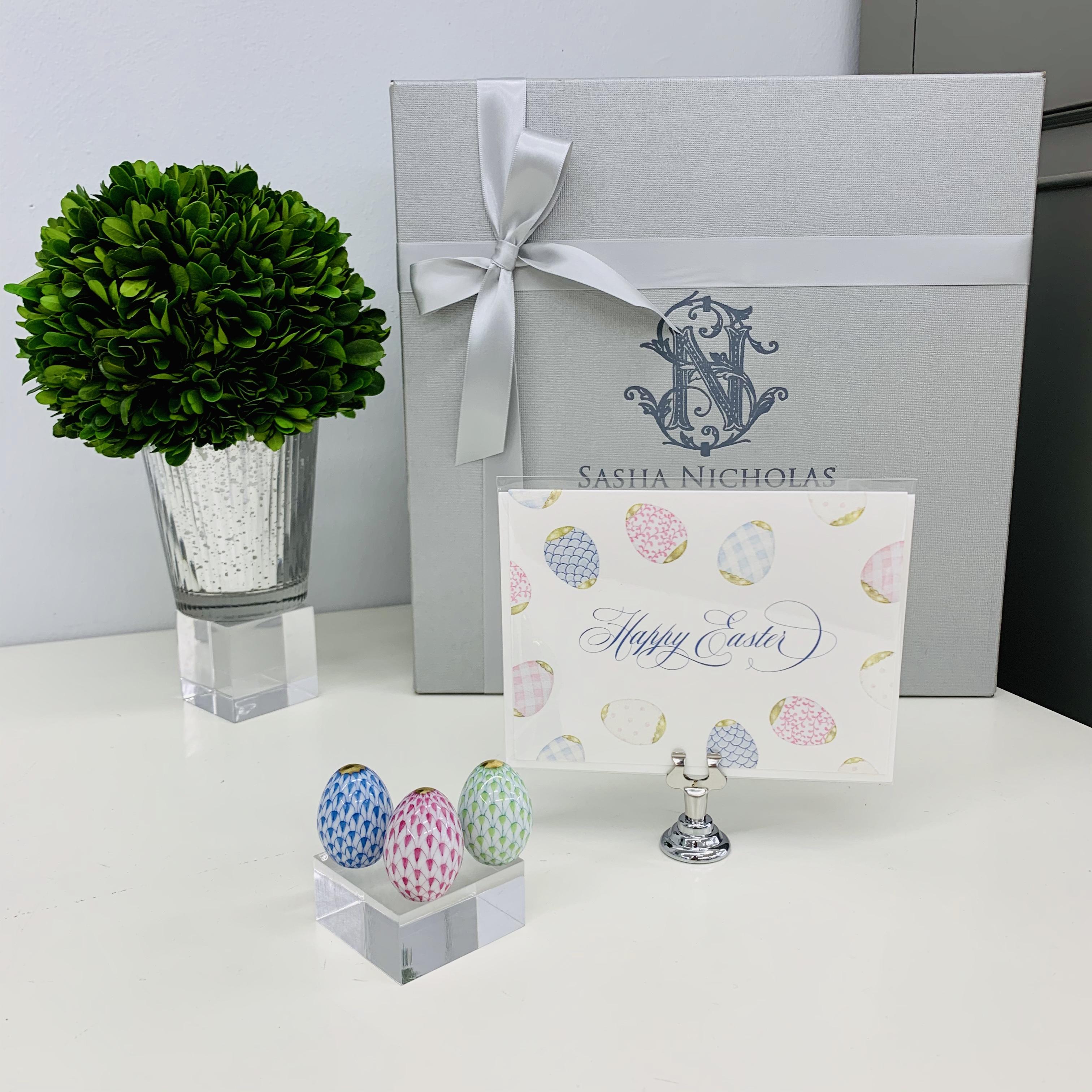 Easter Gift Set   Herend Miniature Egg