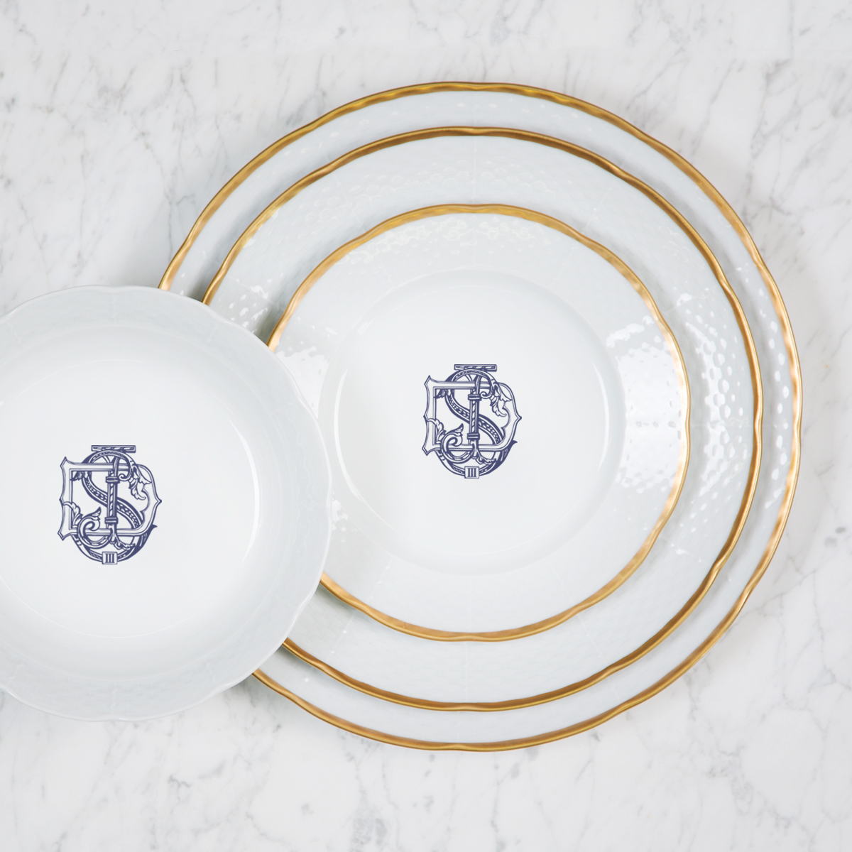Barringhaus-Hoffmann Customer's Own Monogram Setup & Proof For Sasha Nicholas Pieces SND100