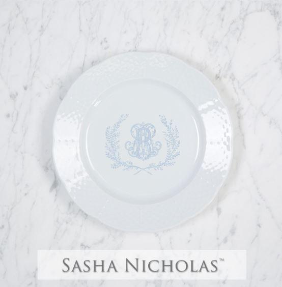 Umstattd-Rischard Weave Salad Plate