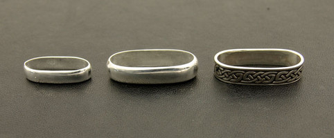 Sterling Silver Sgian Dubh Ferrules