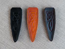 Celtic Embossed Leather Sgian Dubh Sheaths
