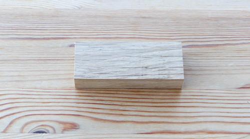 Highland Oak Handle Blank - 92x37x17mm