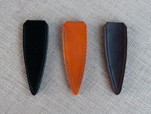 Plain Leather Sgian Dubh Sheaths