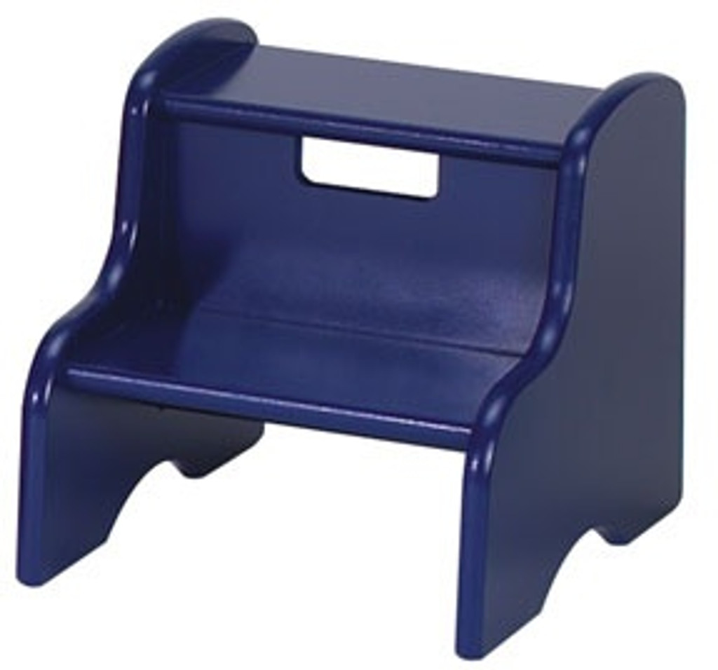 blue step stool