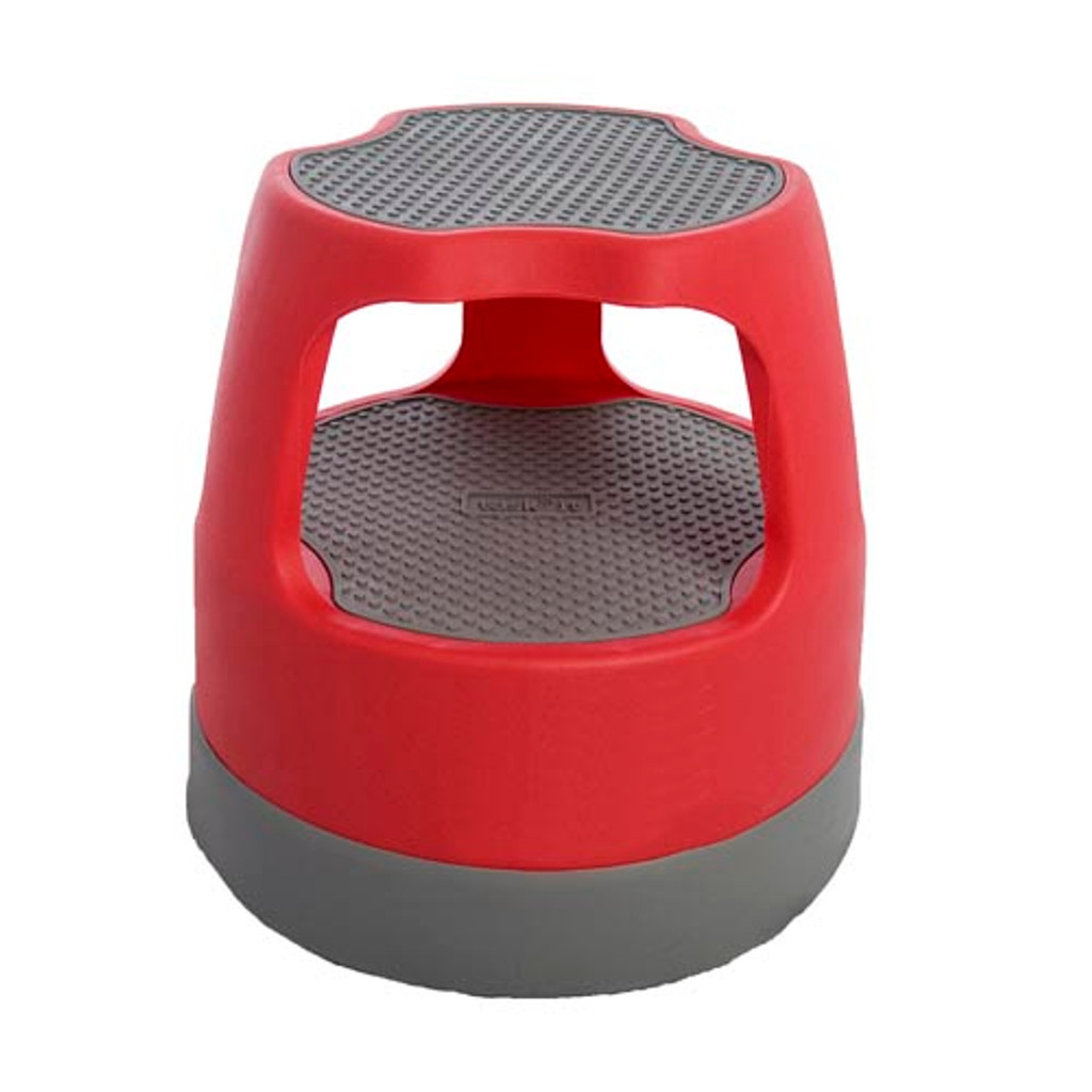 Task It Scooter Stool Red or Gray