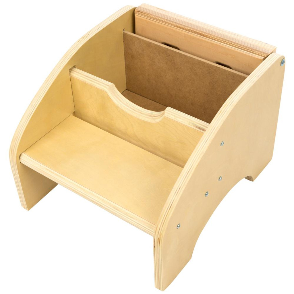 Maple Two Step Puzzle Stool