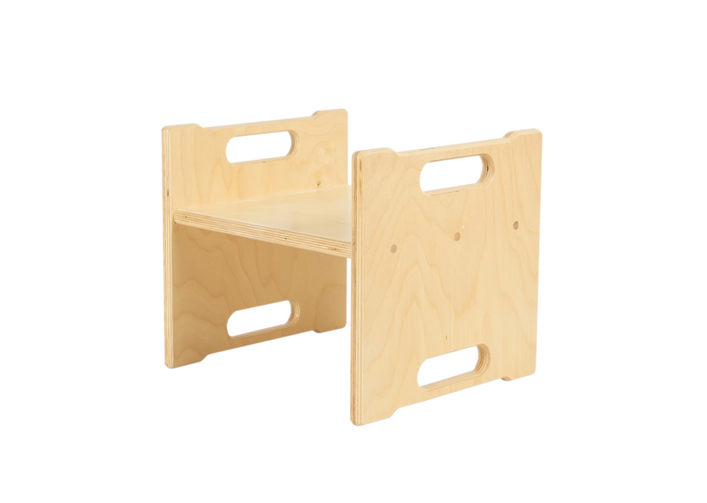 Modern Birch Step Stool