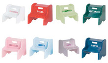 personalized step stools