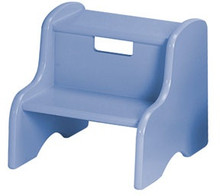 powder blue step stool