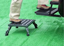 Adjustable Height Folding Safety Step Stool