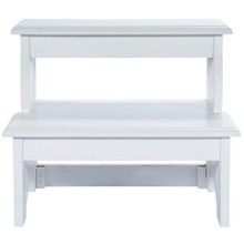 Step Stool in Cottage White