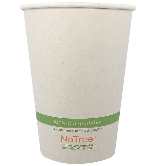 32 oz Compostable Bowls Sugarcane paper BO-SU-32