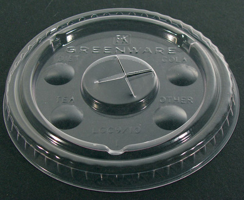 PLA Lid with Flavor Buttons 9509110