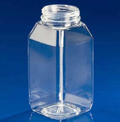 4 oz Square Juice Bottle PET Pallet