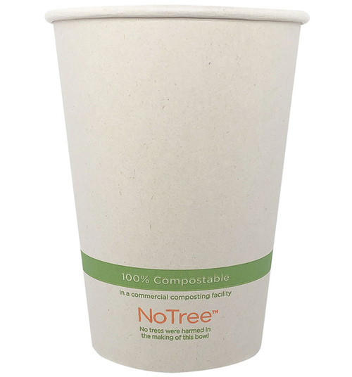 32 oz Compostable Bowl | 100% Sugarcane | Sample