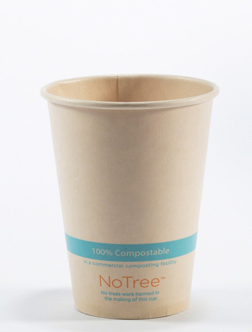 12 oz Compostable NoTree Cold Cup sample