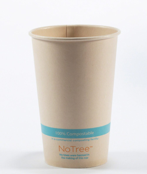 16 oz Compostable NoTree Cold Cup Sample